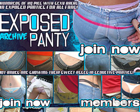 exposed panty archive