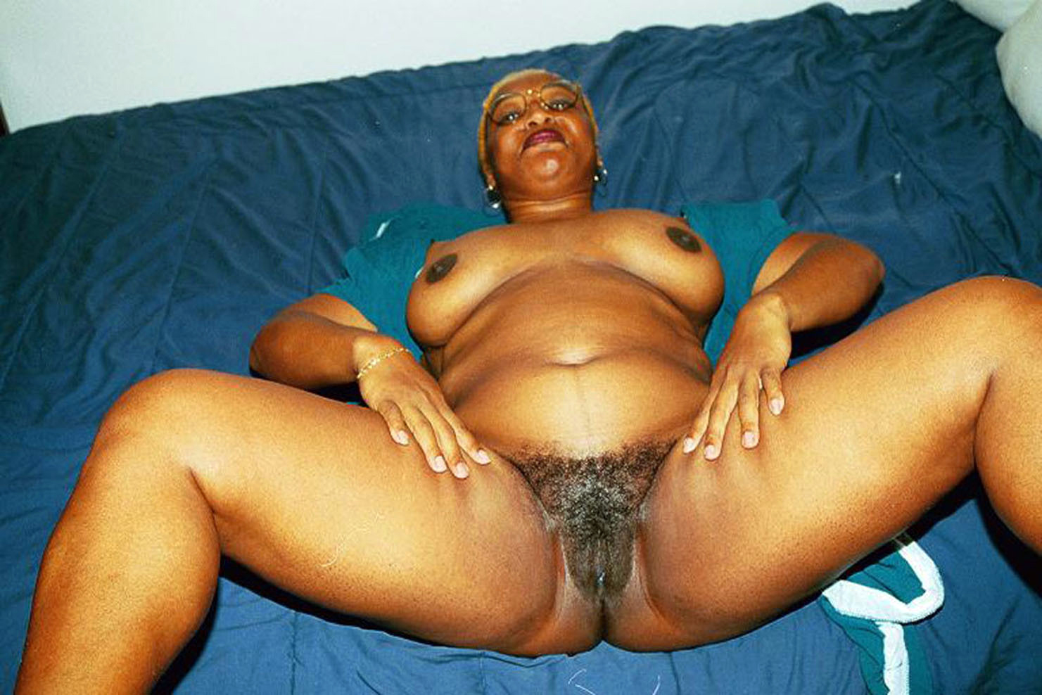 old fat naked black women