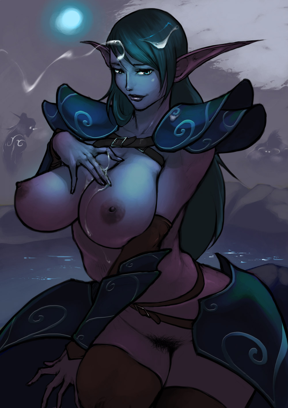 Hot snow elves porn animated erotic pic