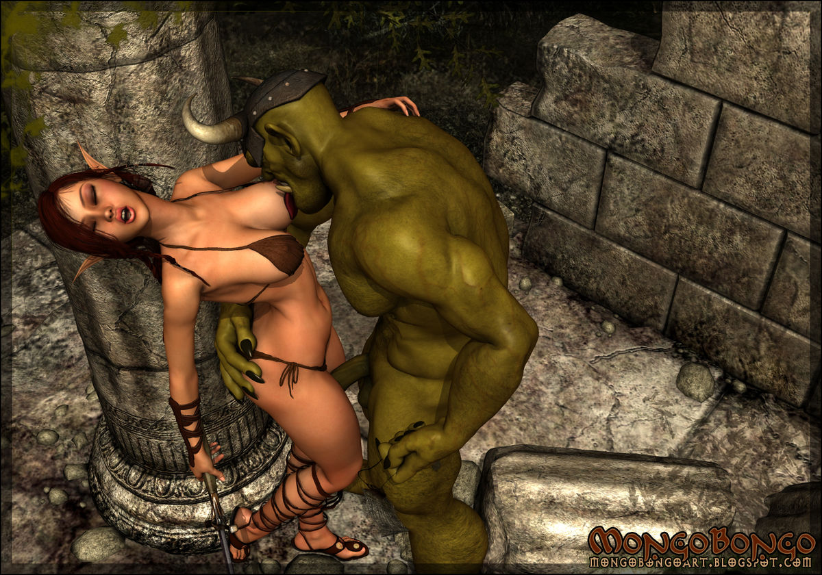 Orcs and elves hentai nude movie