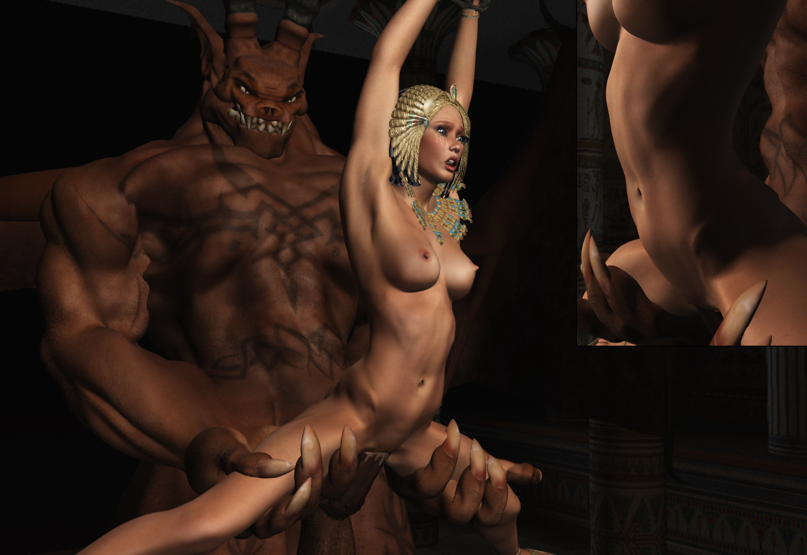 Wallpaper demon nude 3d hardcore reality actress