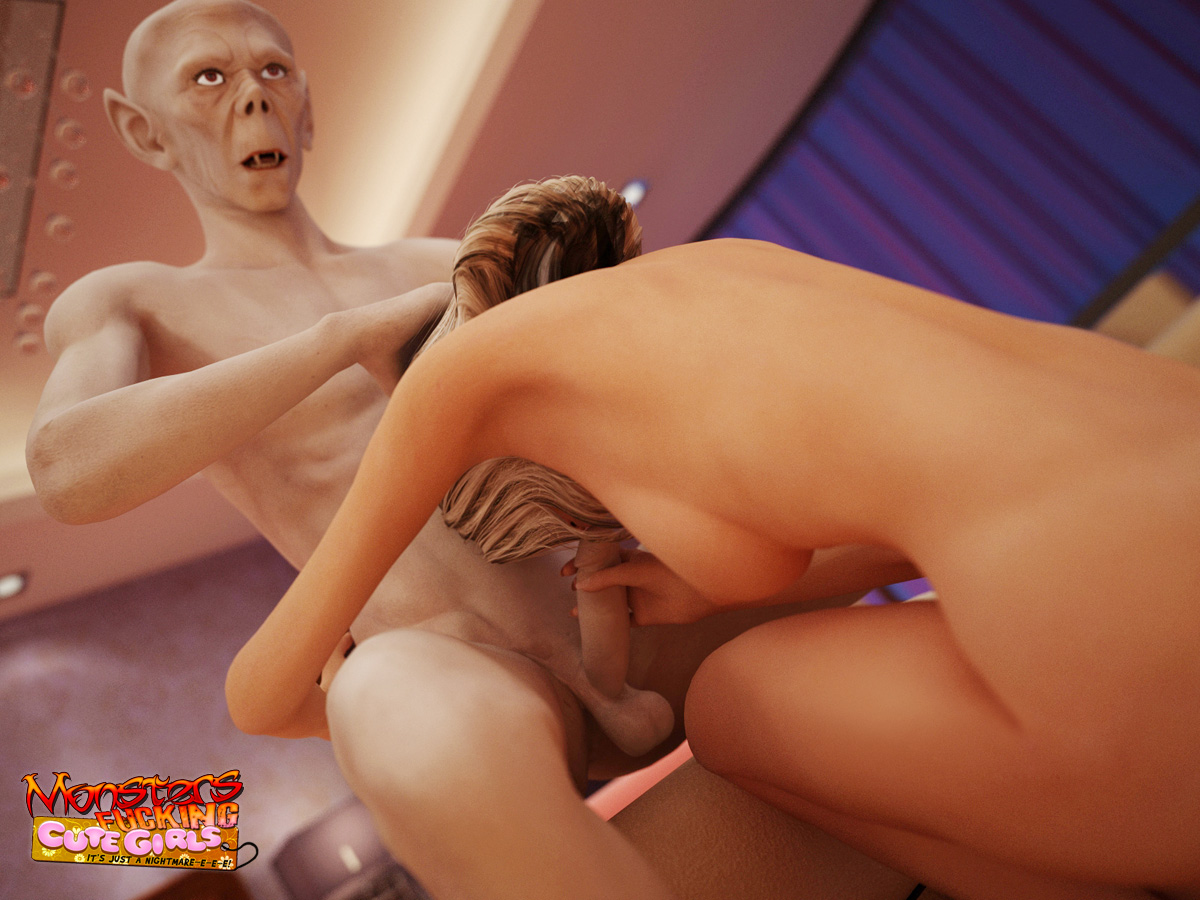 Monster fucking a girl video nsfw photo