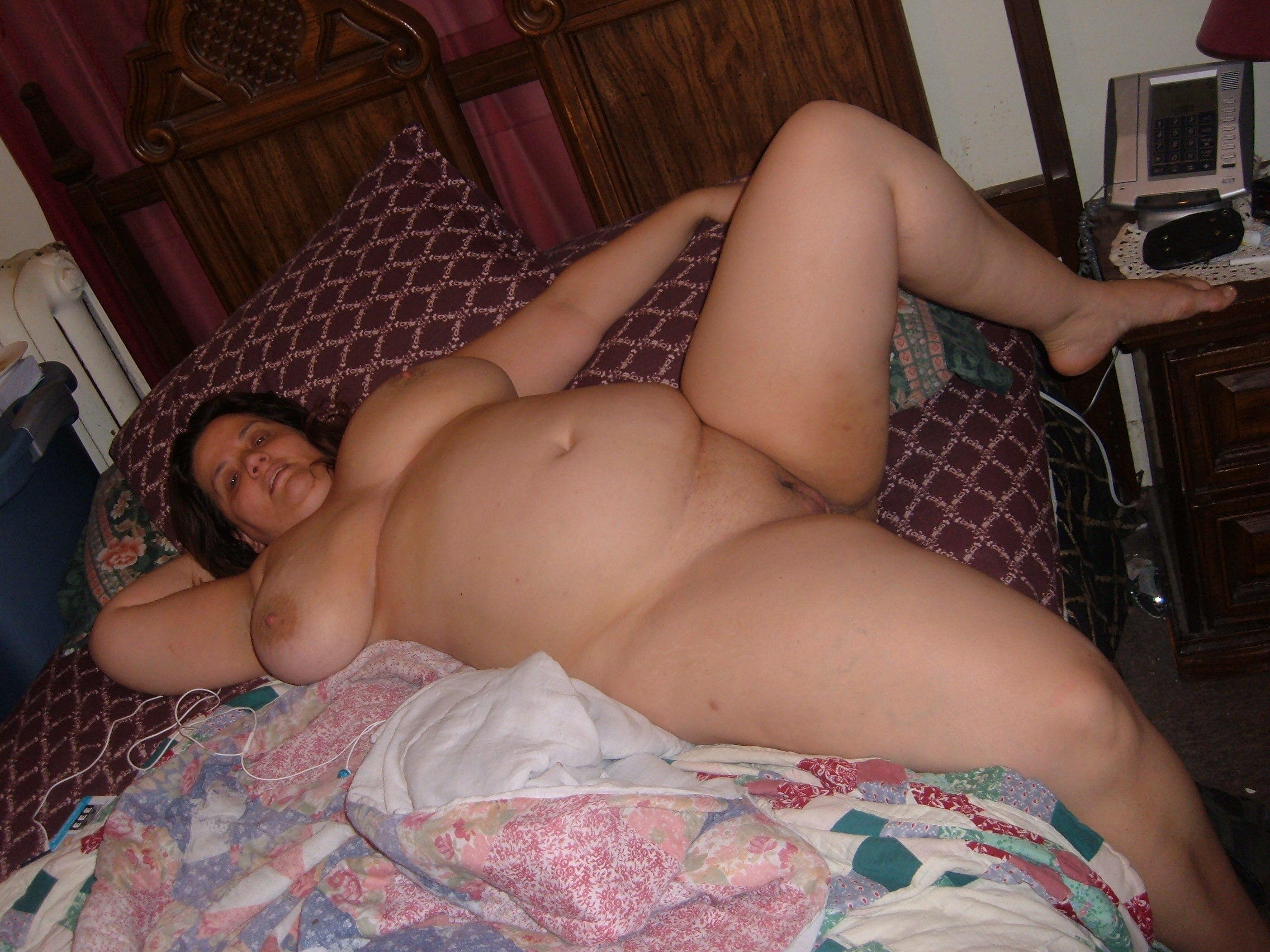 BBW wife with saggy droopy tits collection Image 5