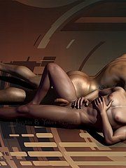 3D Gay artworks