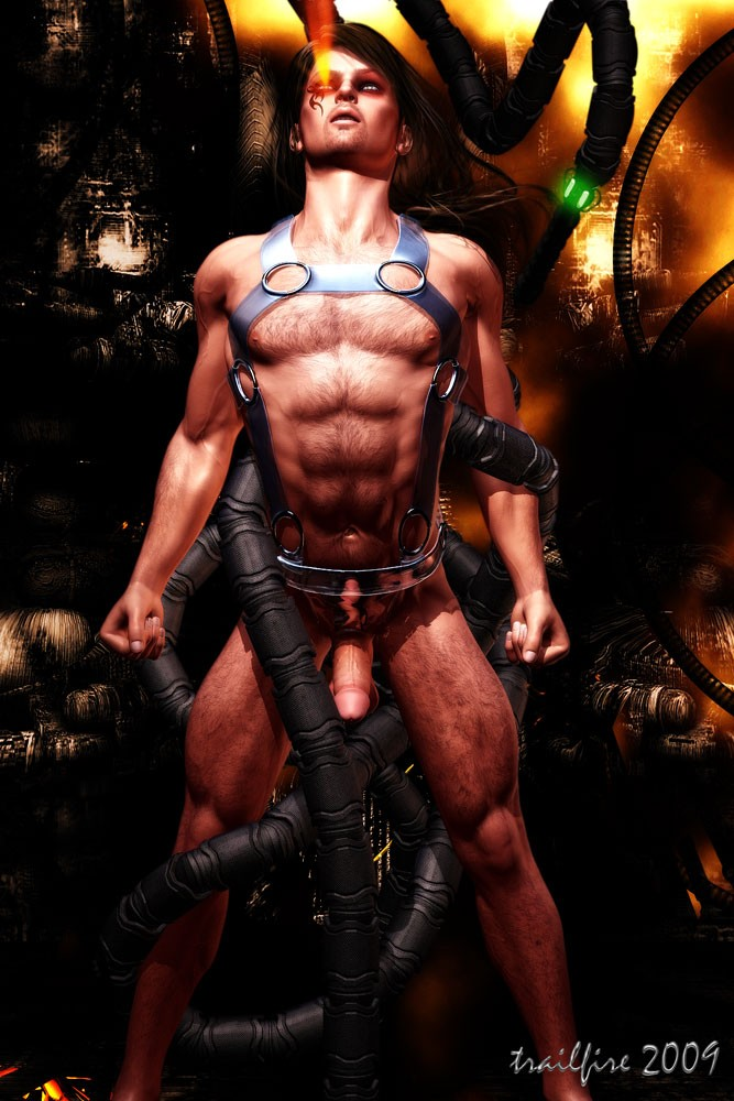 3d Gay Alien Porn - Hot and delightful 3D alien gays