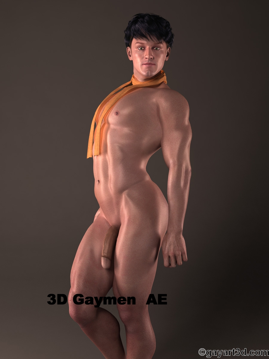 Shocking hairy hunks gay in 3D