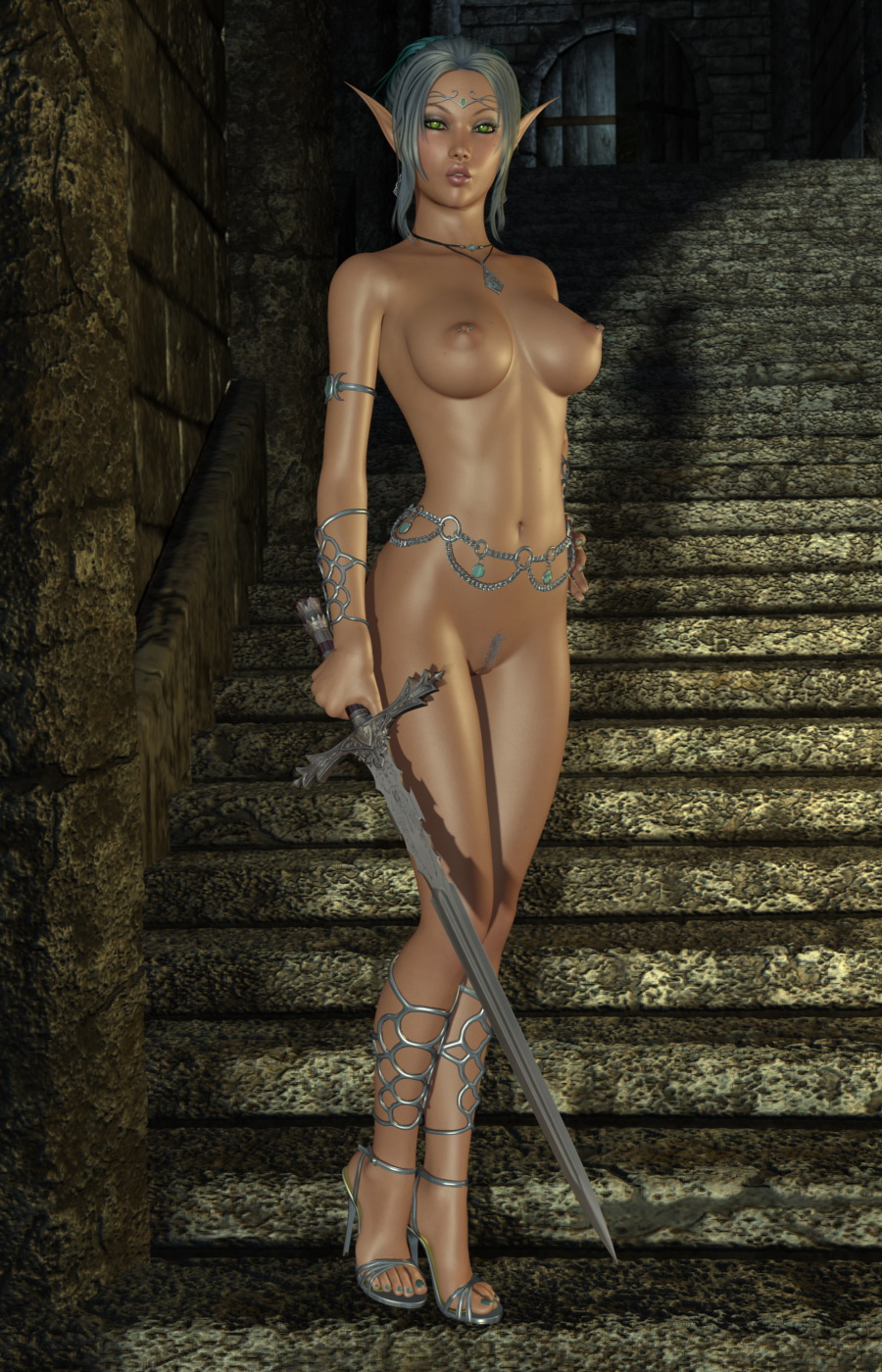 Cartoon 3d nude elf nude pictures