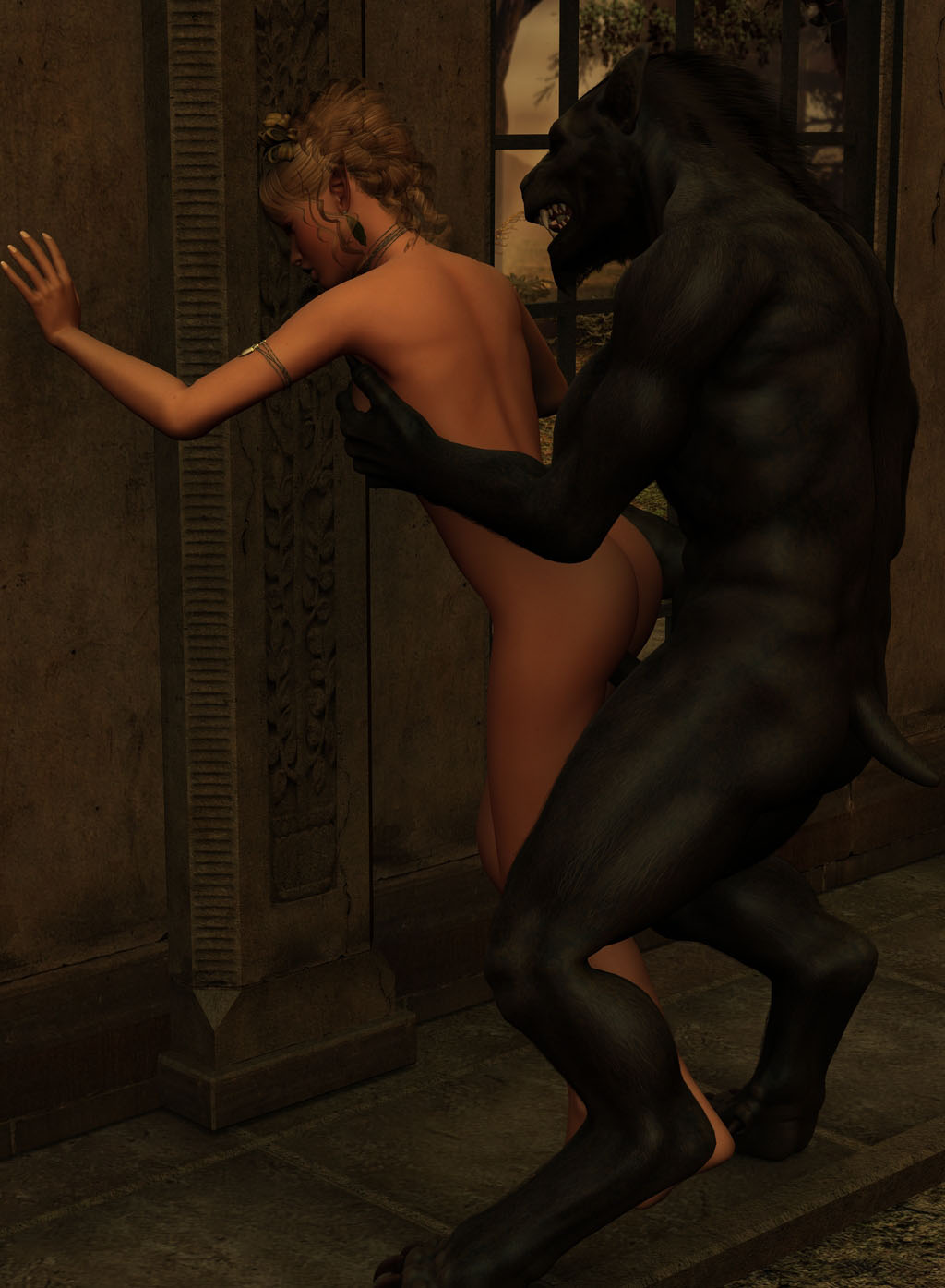 3d dark elf fuck by werewolf sexy clips