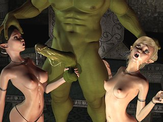 3d comic monster sexual intercourse