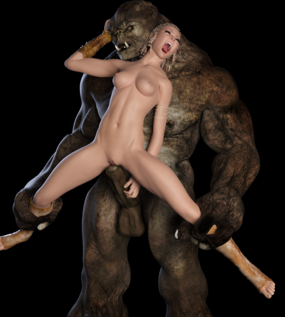 Naked pictures of 3d ogre monsters naked pics