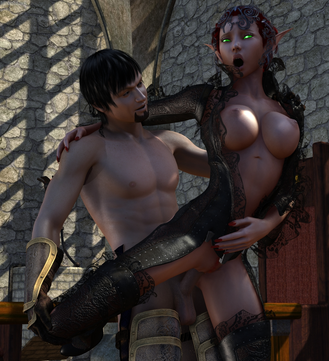 Dark elf princess porn exploited toons