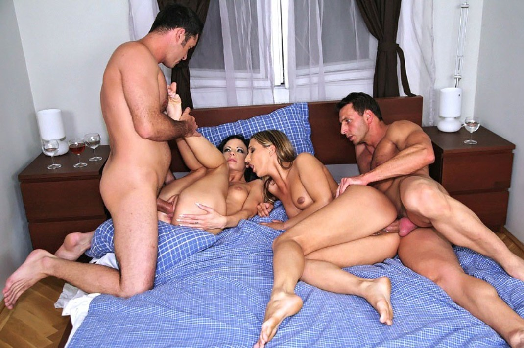 swingers club sex action