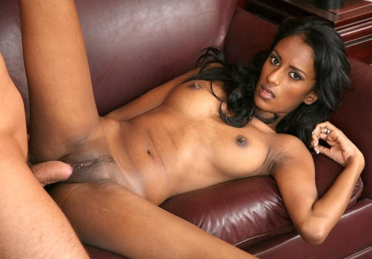 Black girls on white dick